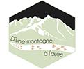 D'une montagne à l'autre – Balade en montagne et randonnées dans la vallée d'Ossau & Gavernie Logo